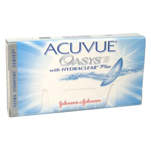 Линзы на 2 недели  Acuvue OASYS with HYDRACLEAR (12 линз)